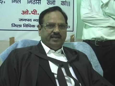 District Judge OP Sharma