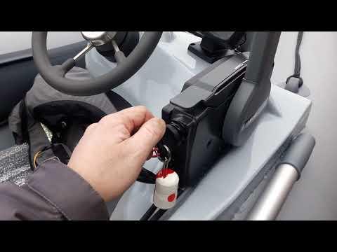 Обзор лодки ПВХ  РИБ STEL 375 И YAMAHA F 25 GES