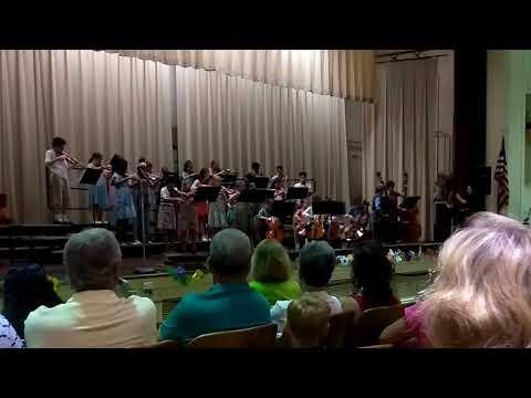 The last Wharton Elementary School spring concert