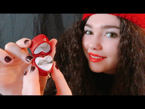 ASMR 💘Valentines Engagement(Ring Shop Role Play)