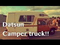 1975 Datsun Sport truck Winnebago Camper conversion