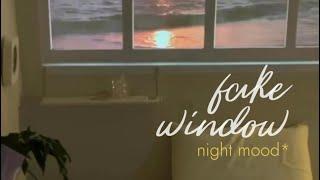 fake window 빔프로젝터