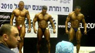 Mr Israel 2010 Pose-Down (85 kg category)