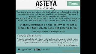 2 Week Alignment Yoga Challenge Day 3 ASTEYA ~ Honesty