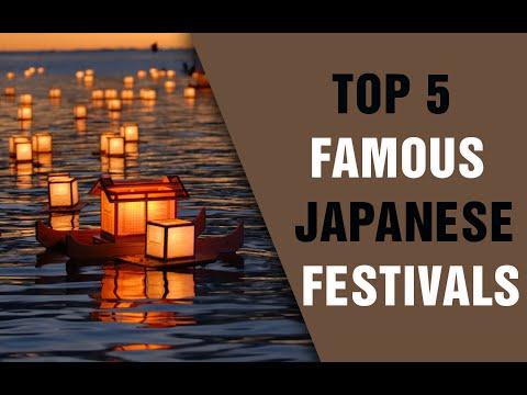 [Top 5] Famous Japanese Festivals