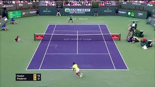 Federer vs Nadal Indian Wells Highlights 2017