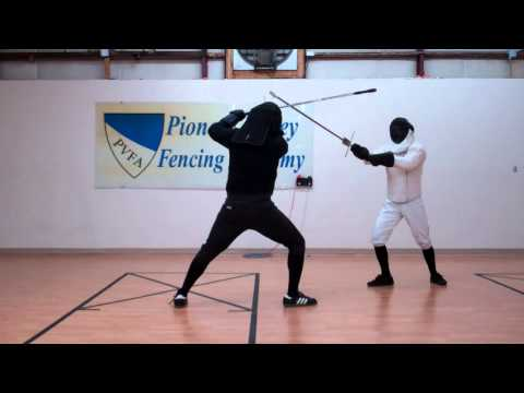 Longsword Drilling In Tempo With Footwork