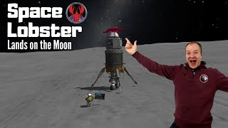 Space Lobster lands on the Moon! 🦀🚀🌙 Live Stream