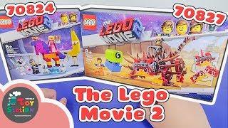 Mở 2 set The LEGO Movie 70824 và 70827 ToyStation 326