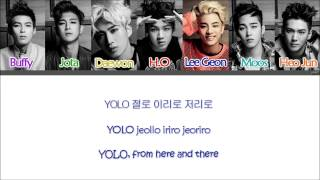YOLO - MADTOWN (매드타운) (Color Coded Han|Rom|Eng Lyrics)