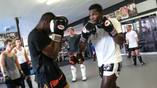Remy Bonjasky : K1 and Muay Thai Camp Waldbröl 31.08-04.09.2011