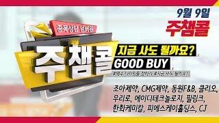 [종목상담 넘버원! 주챔콜] 9월 9일 방송 - 매수 타이밍을 잡아라! GOOD BUY 지금 사도 될까요?