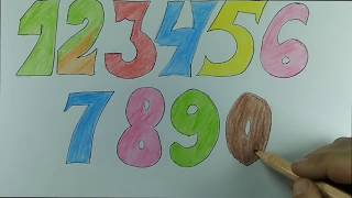 alphabet ABC coloring and drawing tutorials for kids tv
