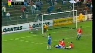 Sydney United v Sydney Olympic Round 28 2000/01 NSL Season, Aljosa Asanovic guest player