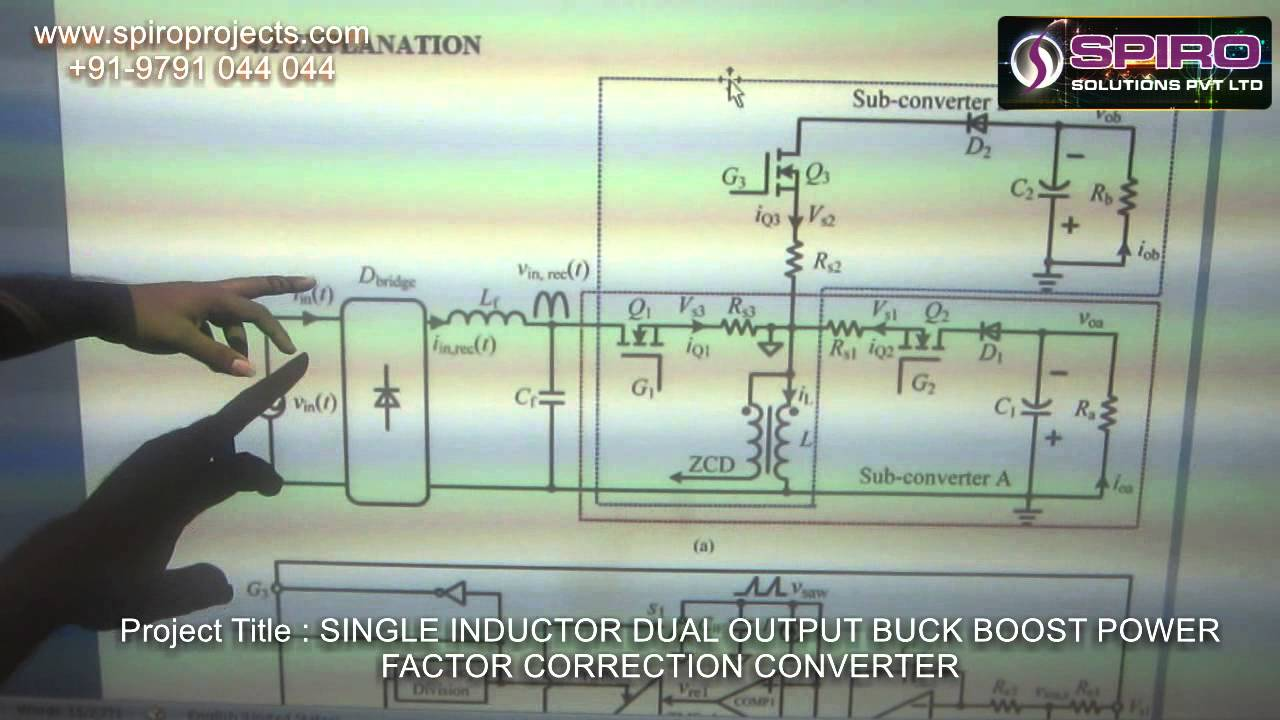 Single Inductor Dual Output Buck Boost Power Youtube Circuit Diagram Of A Typical Factor Correction Converter