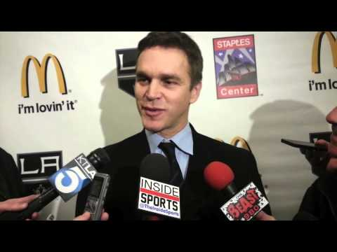 LA Kings to unveil statue of Luc Robitaille - Interview w/Luc