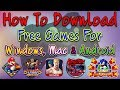How To Download Free Games For Windows, MAC & Android | Play Online Games | In Hindi/Urdu |