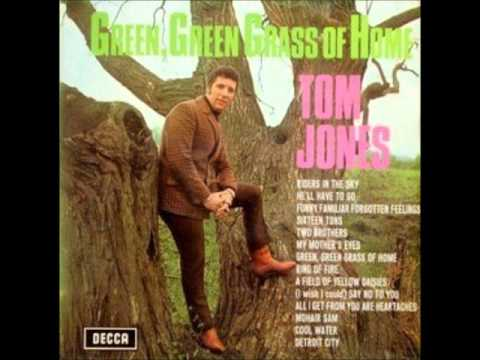Tom Jones Green Green Grass Of Home