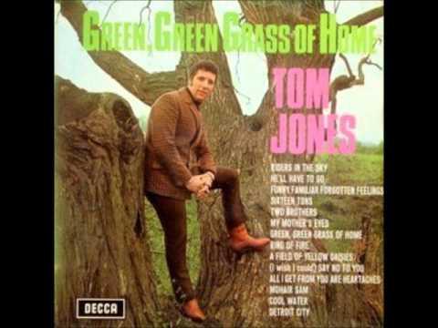 Tom Jones Green Green Grass Of Home