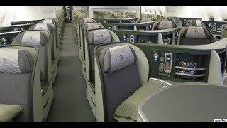 5-STAR AIRLINE EVA AIR BUSINESS CLASS TAIPEI(TPE) - TORONTO(YYZ). B777-300ER