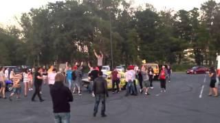 Авто приколы 2013  Лучший дрифт на москвиче  Смешное видео