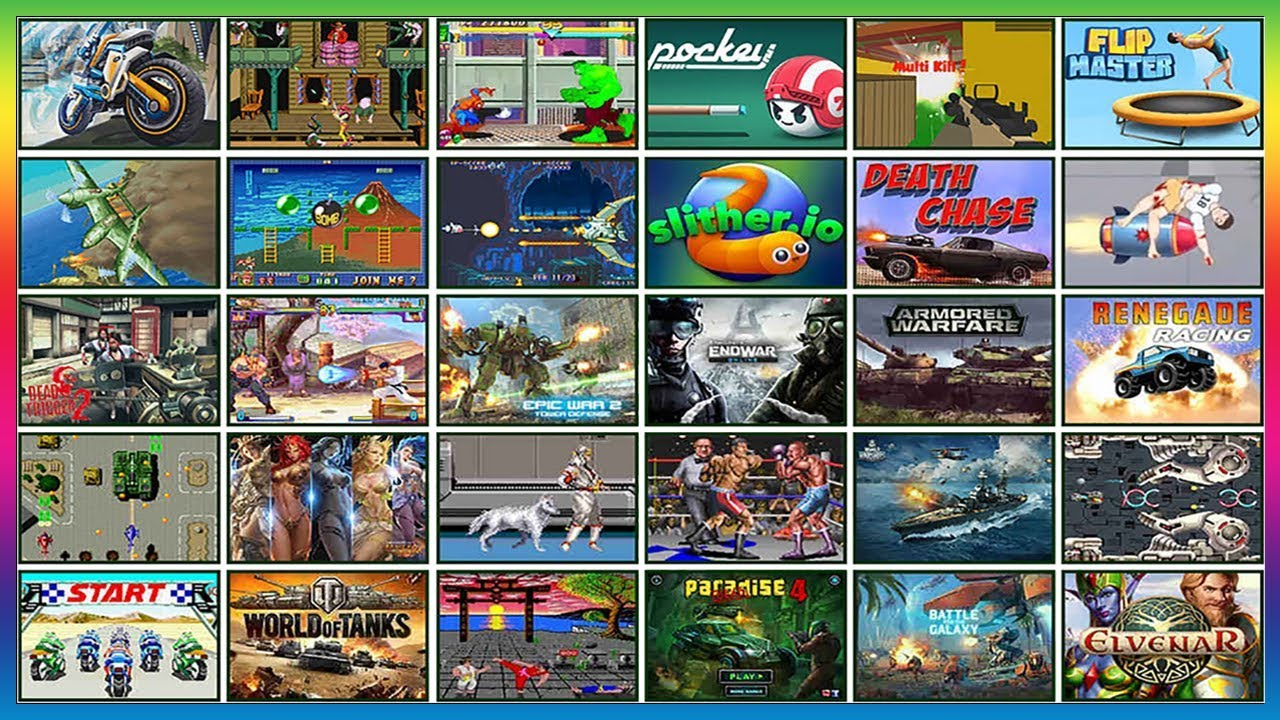 Free Unblocked Games To Play At Shool Arcade