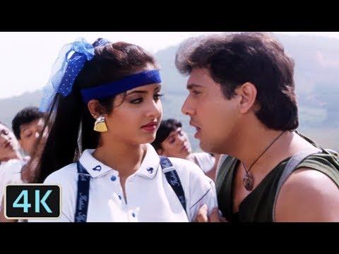 Jaane De Jaane De   Full 4K Video Song   Govinda   Divya Bharti - Shola Aur Shabnam