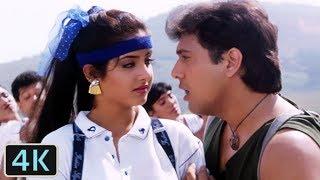 Jaane De Jaane De | Full 4K Video Song | Govinda | Divya Bharti - Shola Aur Shabnam