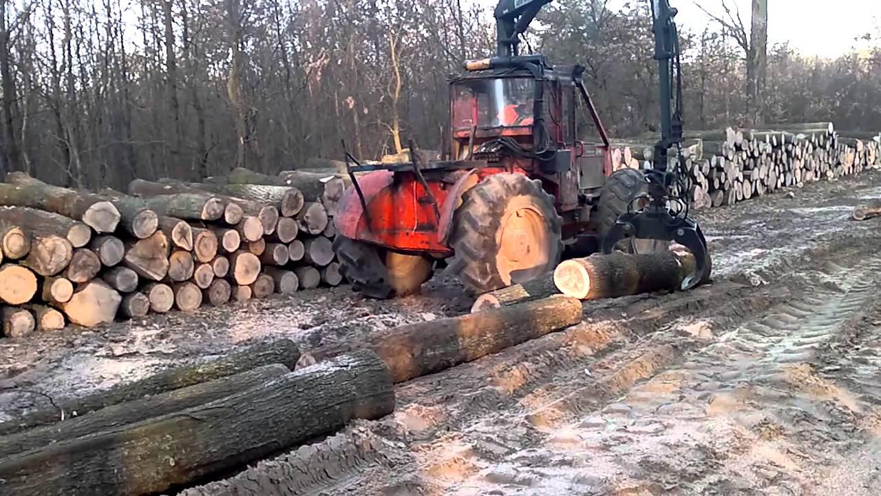 Timberjack 360 darús,