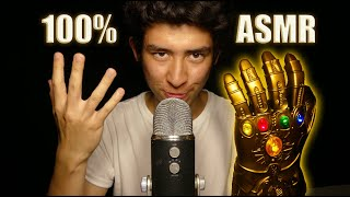 ASMR TINGLE ENDGAME with the INFINITY GAUNTLET! (#1 Trigger)