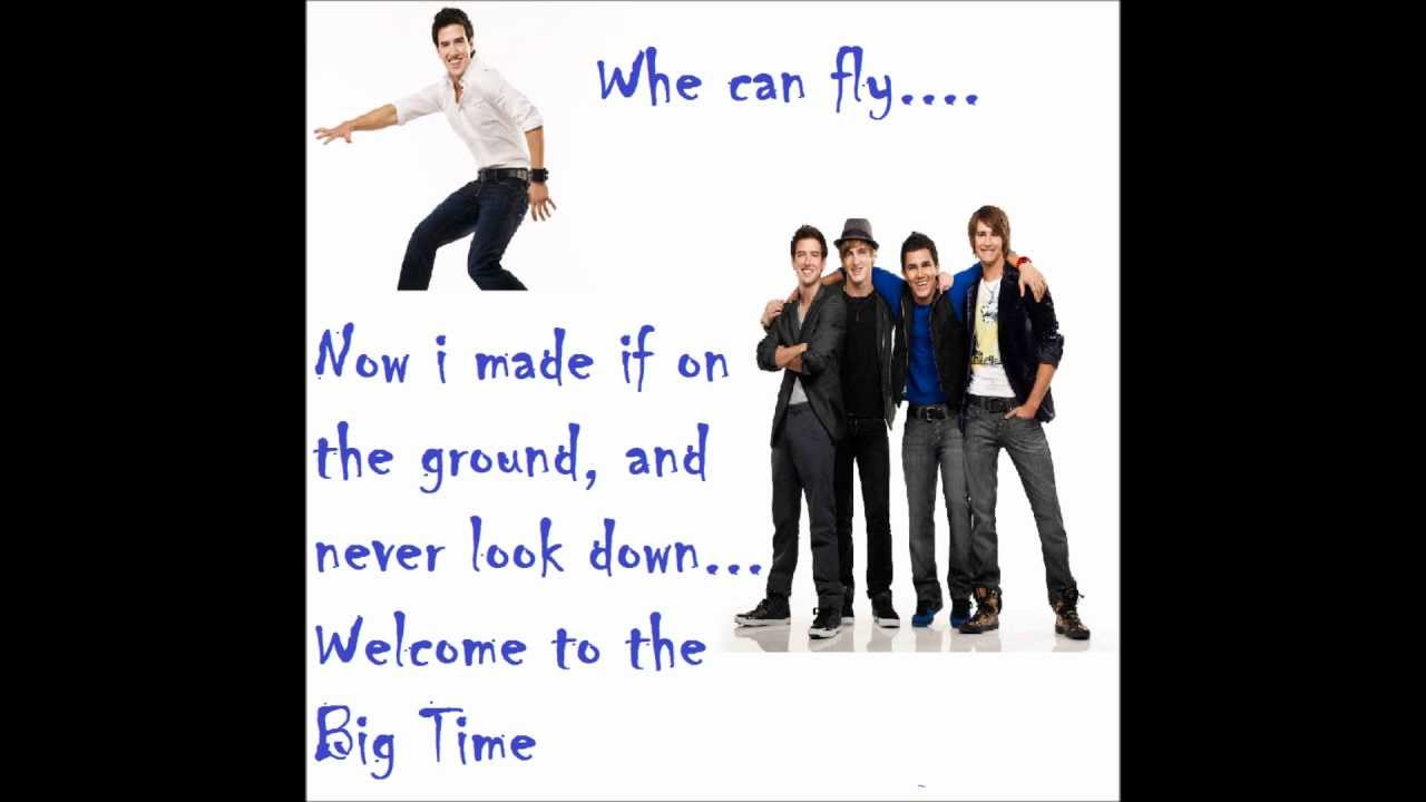 big time rush big time theme song lyrics youtube. Black Bedroom Furniture Sets. Home Design Ideas