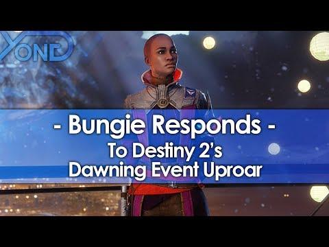 Bungie Responds to Destiny 2's Dawning Event Uproar