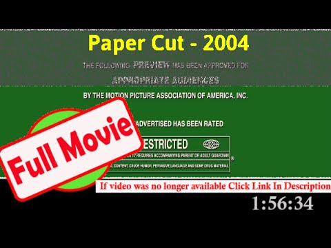 Papercraft Paper Cut (2004)   77227 *FuII* oxipaa