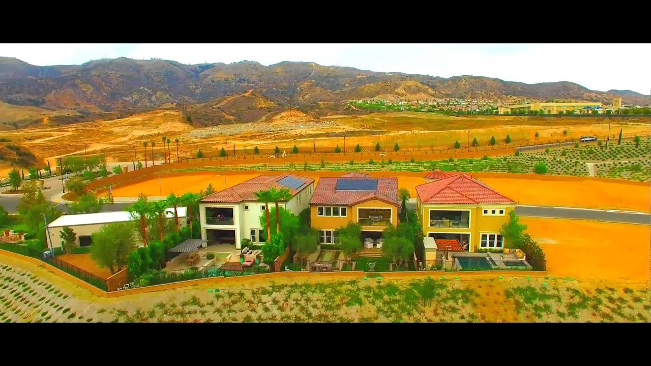 bella vista at porter ranch - bluffs collection extended tour