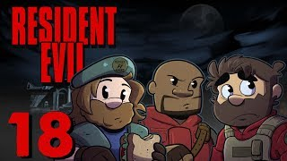 Resident Evil HD Remake | Let's Play Ep. 18 | Super Beard Bros.