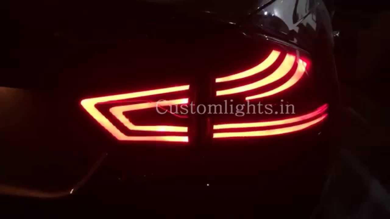 Suzuki Swift Aftermarket Tail Lights