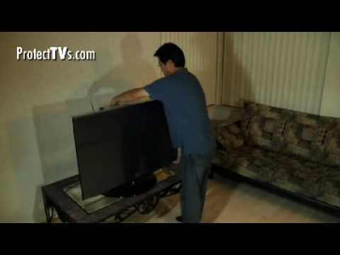 TV Screen Protector Installation Video By ProtectTVs - For LED, LCD, Plasma TV Including 2D, 3D