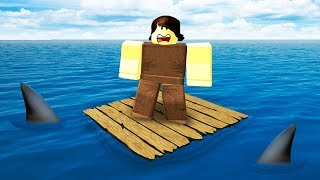 SURVIVING ON A RAFT!? (Roblox)