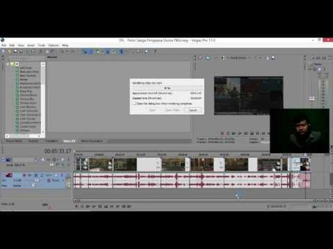tahap akhir pengeditan... Cara Instal Sony Vegas Pro 13 tanpa crack https://youtu.be/NqGaqm_4sdM bac.