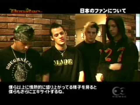 Good Charlotte Japan Interview