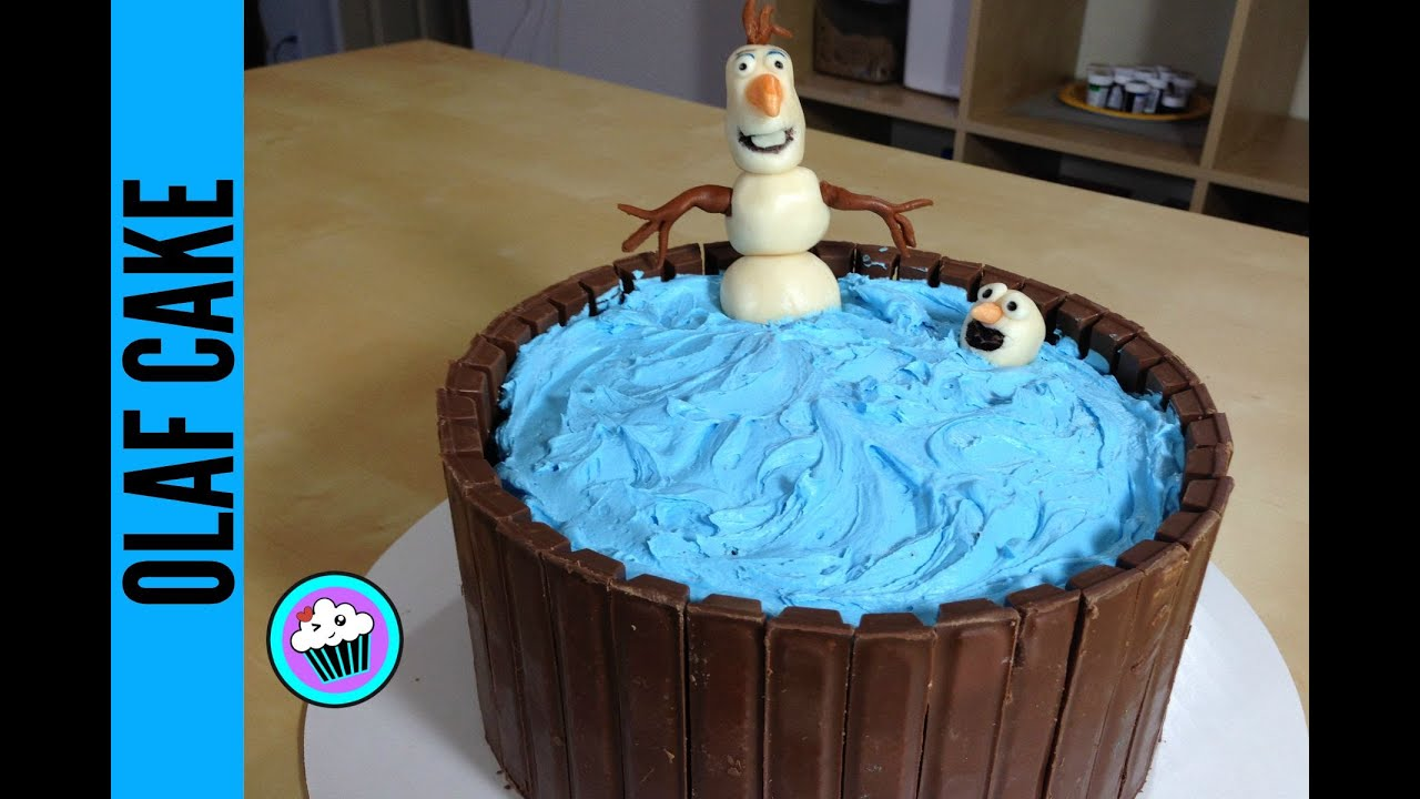 How to make Olaf Cake Pinch of Luck YouTube
