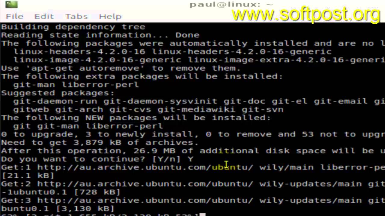 How to install git in Fedora