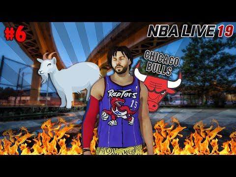 I G.O.A.T. A CHICAGO SI SENTONO A CASA... - NBA LIVE 19 The Rise #6