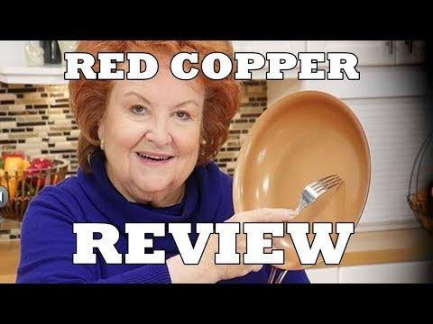 VULGAR : Red Copper Pan