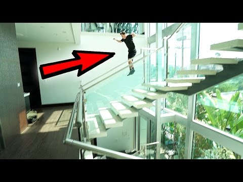 WE JUMPED OFF OUR BALCONY…