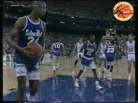 1989 NCAA Final Four Seton Hall v Duke First Half