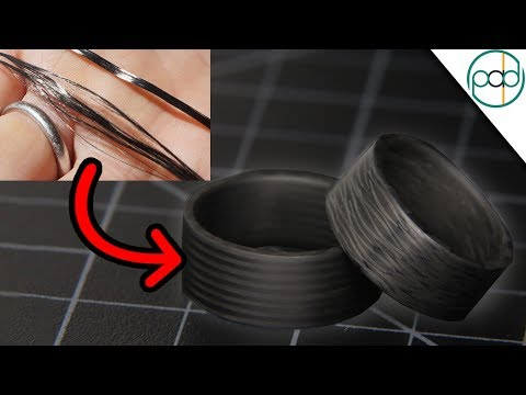 From String To Ring: Making A Carbon Fiber Plate To Craft Into A Ring