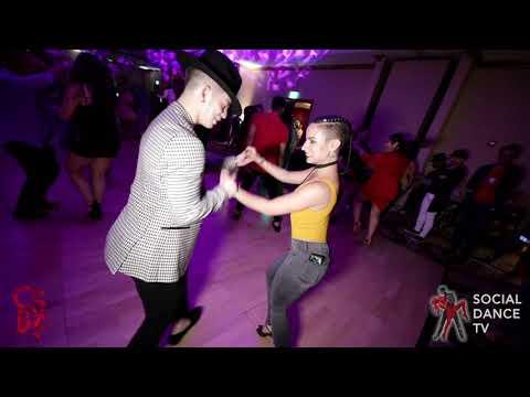 Ana Saoco & Kevin Gallego - Salsa Social Dancing | Chicago Salsa & Bachata Festival 2019