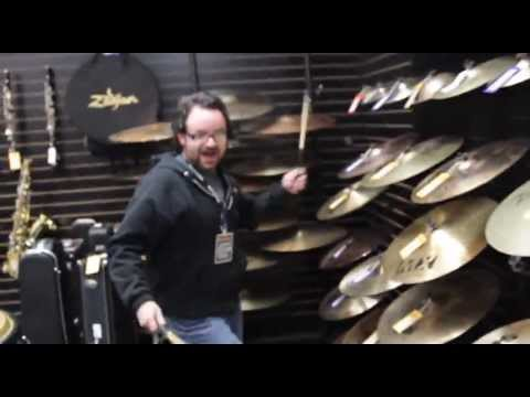 Christmas Vlog #10  All Cymbals!!  Music Go Round, Albuquerque