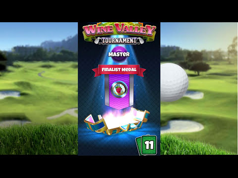 Golf Clash, 4th place PRIZECHEST - Wine Valley tournament - Masters